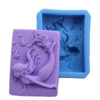 Силиконовая форма Русалка №2 2D 1 шт  - Все для мыла ручной работы - интернет-магазин Blesk-ekb.ru, Екатеринбург