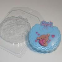 Пластиковая форма Слюнявчик 1 шт     - Все для мыла ручной работы - интернет-магазин Blesk-ekb.ru, Екатеринбург