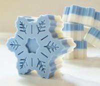 Силиконовая форма Снежинка №5 1 шт  - Все для мыла ручной работы - интернет-магазин Blesk-ekb.ru, Екатеринбург