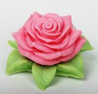 Силиконовая форма Садовая роза 3D 1 шт - Все для мыла ручной работы - интернет-магазин Blesk-ekb.ru, Екатеринбург