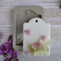 Прямоугольник с выступом силиконовая форма для саше - Все для мыла ручной работы - интернет-магазин Blesk-ekb.ru, Екатеринбург