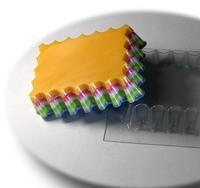 Пластиковая форма ВОЛНУШКА 1 шт - Все для мыла ручной работы - интернет-магазин Blesk-ekb.ru, Екатеринбург