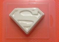Пластиковая форма Супермен 1 шт - Все для мыла ручной работы - интернет-магазин Blesk-ekb.ru, Екатеринбург