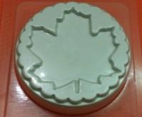 Пластиковая форма Кленовый лист 1 шт - Все для мыла ручной работы - интернет-магазин Blesk-ekb.ru, Екатеринбург