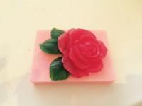 Силиконовая форма Цветок Розы 2D 1шт  - Все для мыла ручной работы - интернет-магазин Blesk-ekb.ru, Екатеринбург