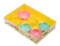 Коробка с прозрачной крышкой Ярко 17*12*3, 1 шт - Все для мыла ручной работы - интернет-магазин Blesk-ekb.ru, Екатеринбург