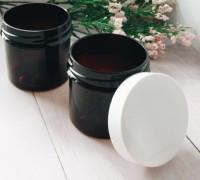 Баночка коричневая 100 мл 1 шт - Все для мыла ручной работы - интернет-магазин Blesk-ekb.ru, Екатеринбург