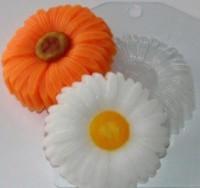 Пластиковая форма Ромашка 1 шт - Все для мыла ручной работы - интернет-магазин Blesk-ekb.ru, Екатеринбург