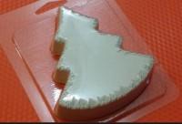 Пластиковая форма Елка мохнатый контур 1 шт - Все для мыла ручной работы - интернет-магазин Blesk-ekb.ru, Екатеринбург